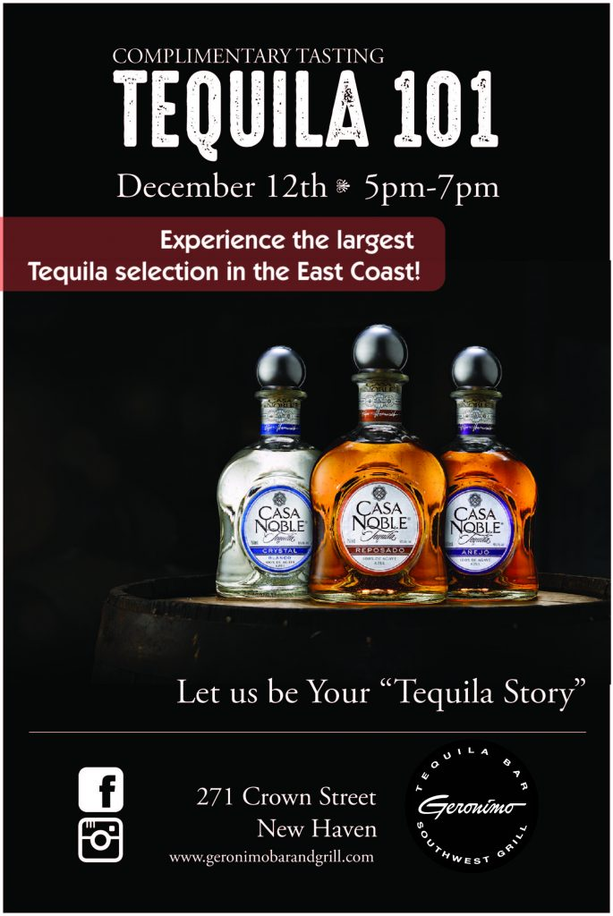 Casa Noble Tequila 101 Poster FINAL-01
